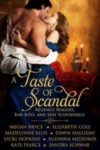 Book Cover: A Taste of Scandal